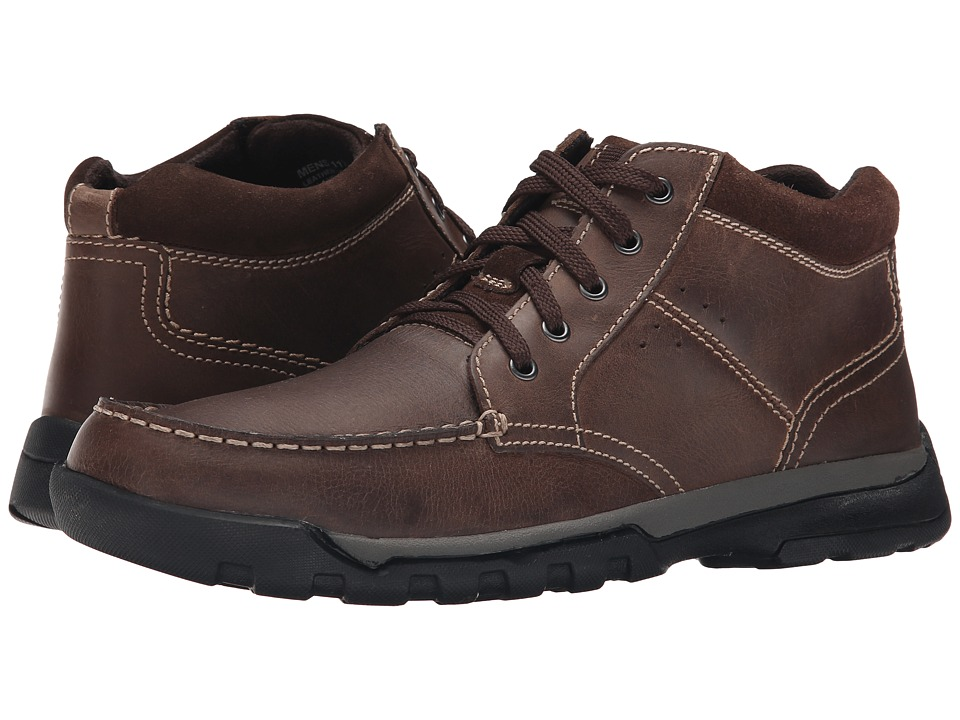 Florsheim Roster Moc Boot (Brown Crazy Horse) Men