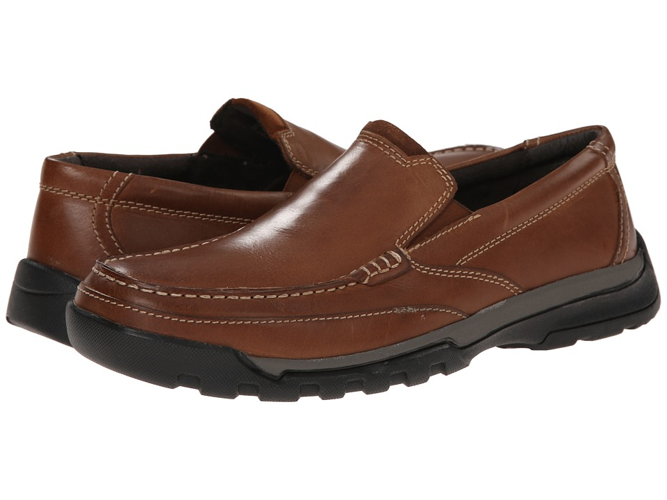 Florsheim - Roster Moc Slip-On (Cognac Smooth) Men