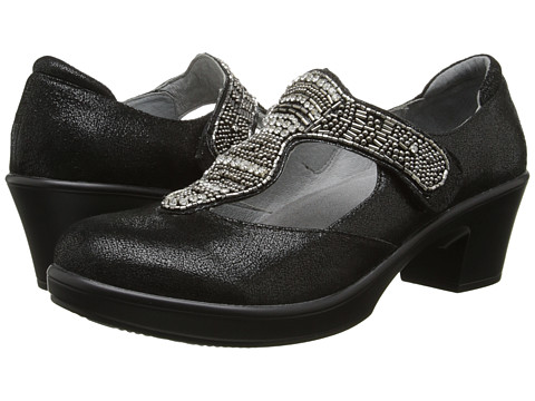 Alegria - Hazel (Black Crackle) Women's Shoes