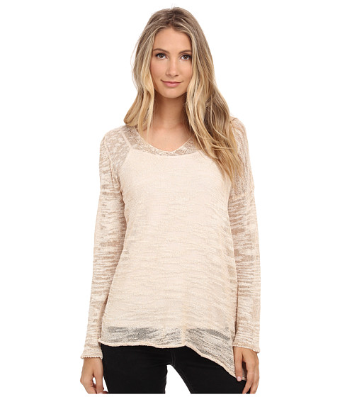 NIC+ZOE - Sugared Sunset Top (Sugarcane/Midnight Mix) Women's Long Sleeve Pullover