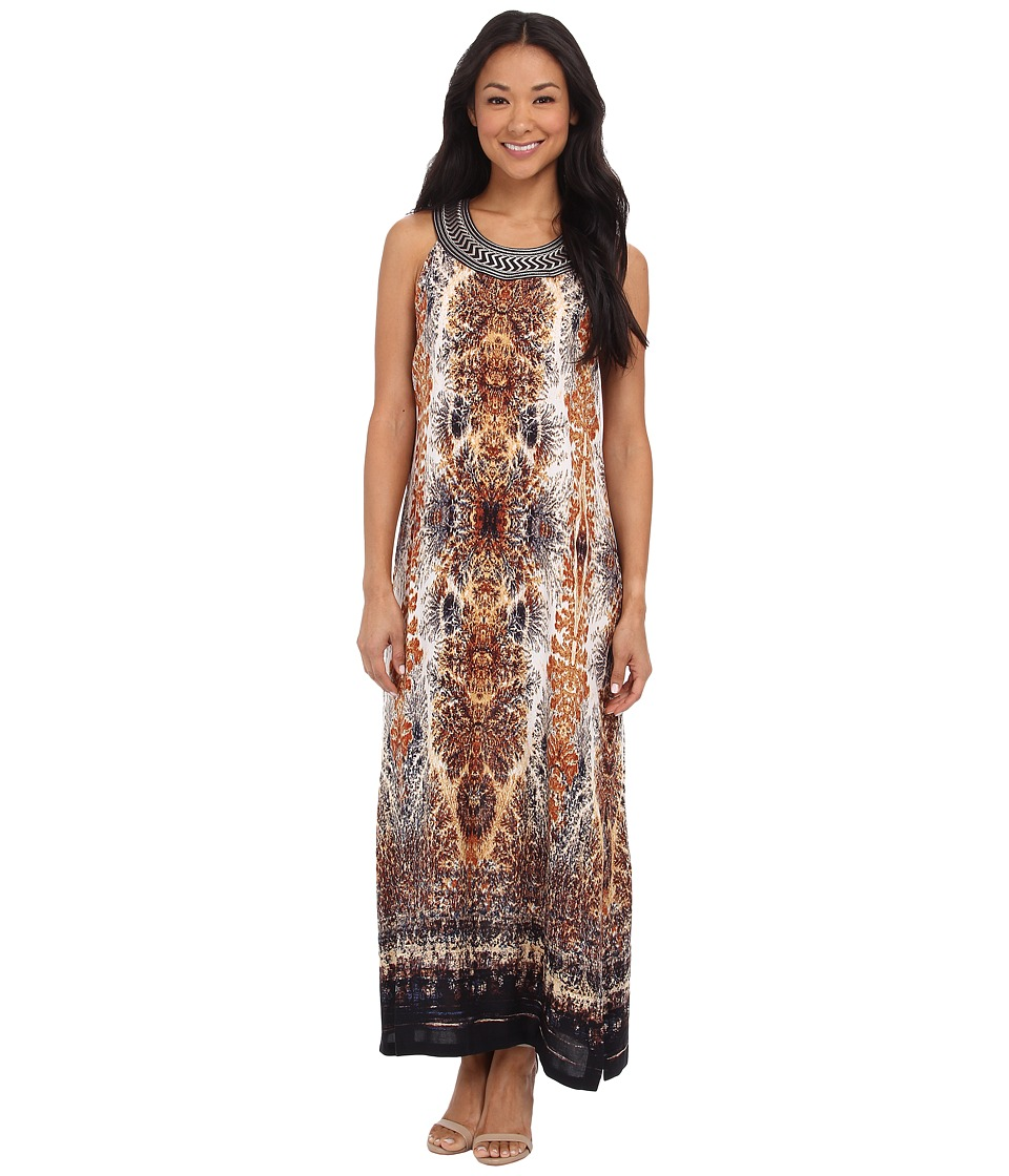 NIC+ZOE - Hidden Treasures Dress (Multi) Women's Dress