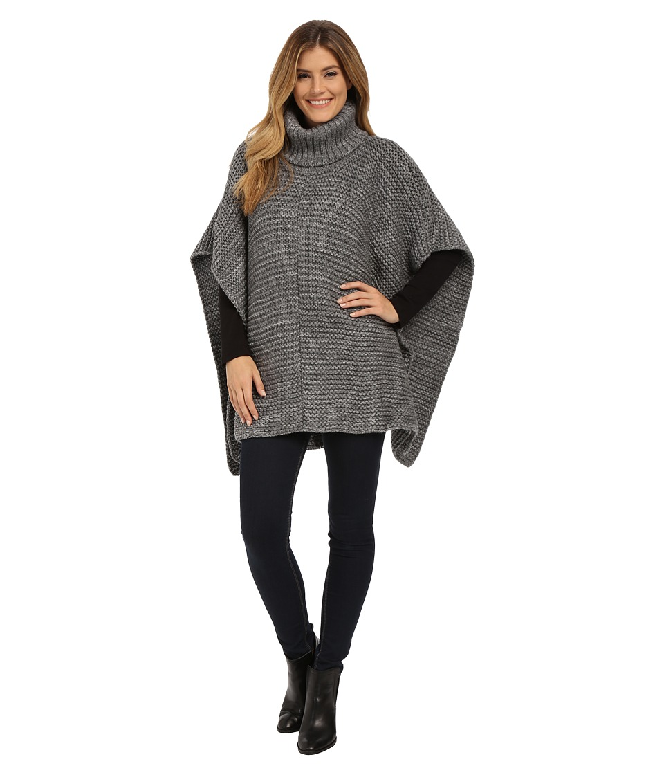 UGG - Robbyn Poncho (Granite Heather) Women's Clothing
