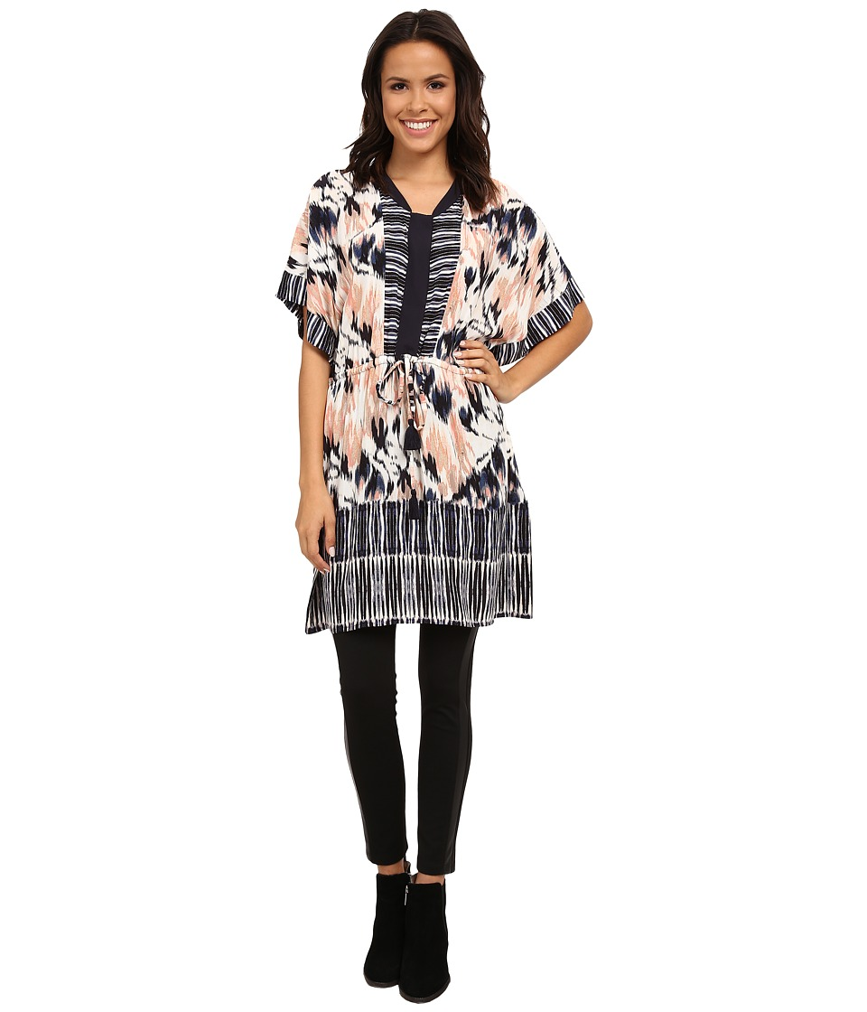 NIC+ZOE Tropical Tides Tunic (Multi) Women