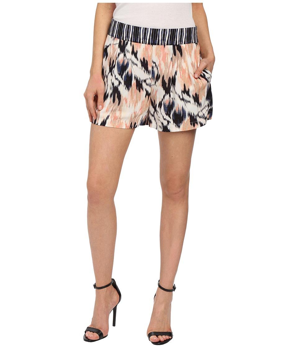 NIC+ZOE - Tropical Tides Shorts (Multi) Women's Shorts