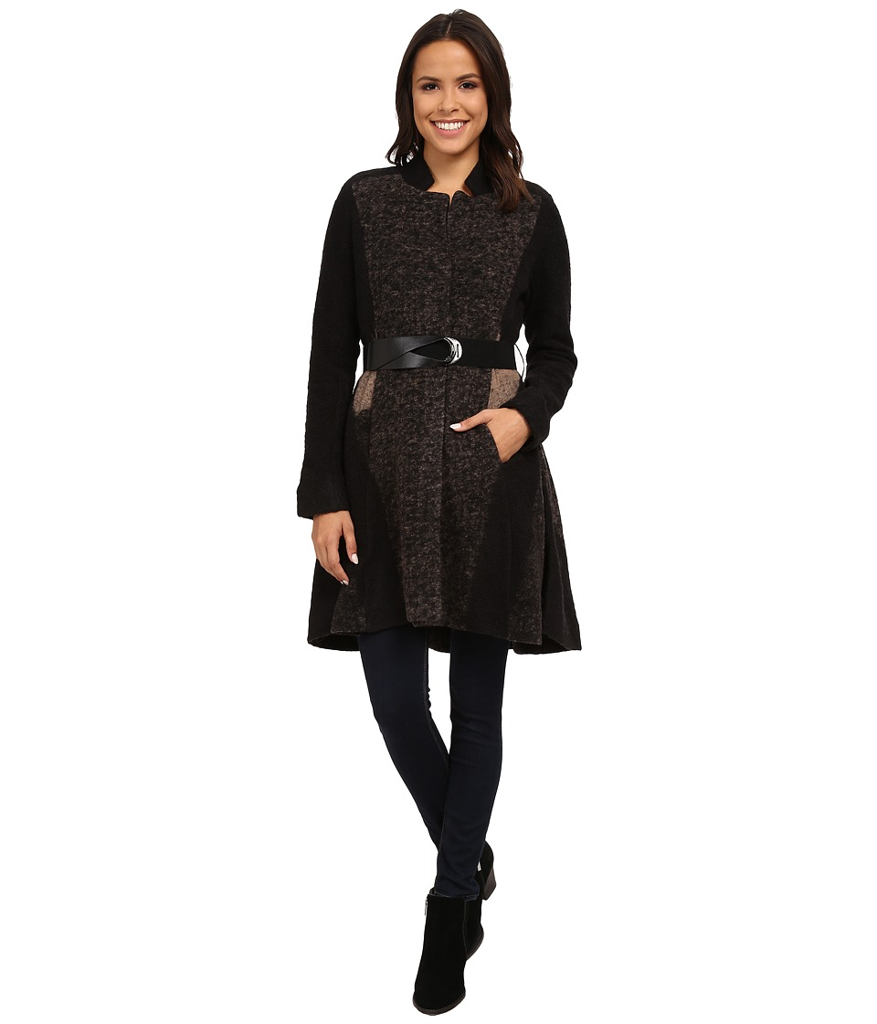NIC+ZOE - Textured Twirl Coat (Multi) Women's Coat