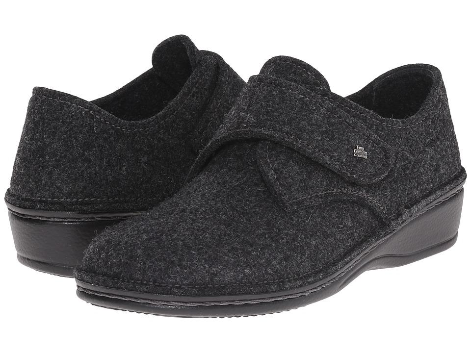 Finn Comfort - Adelboden (Grey Wollfilz) Women's Shoes