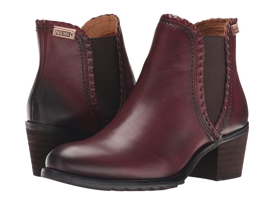 Pikolinos - Andorra 913-8544 (Garnet) Women's Boots