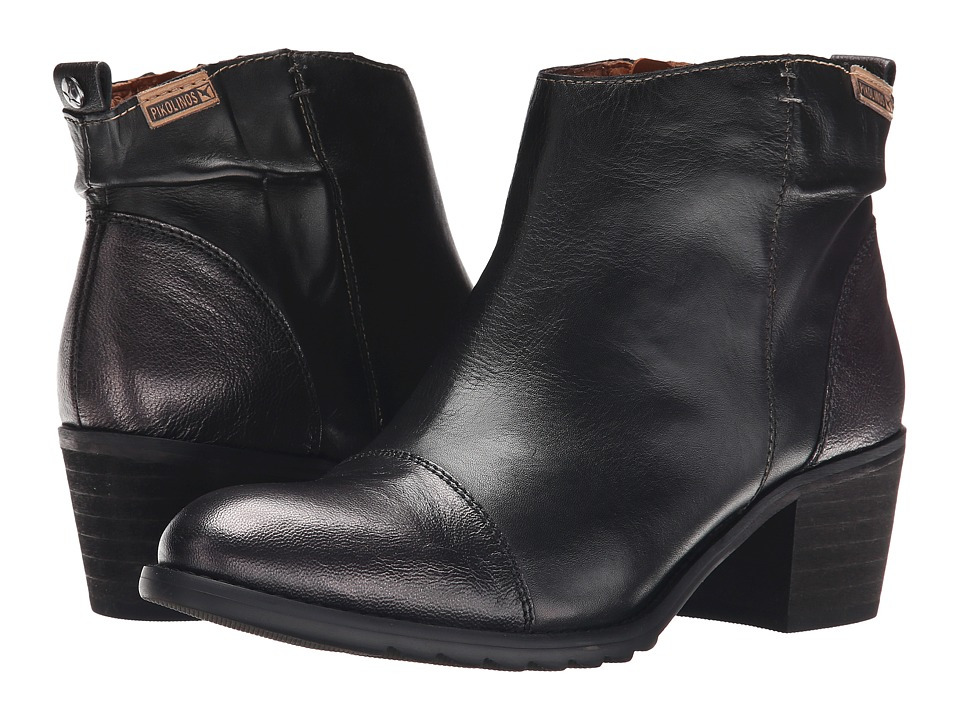 Pikolinos - Andorra 913-8579 (Black) Women's Boots