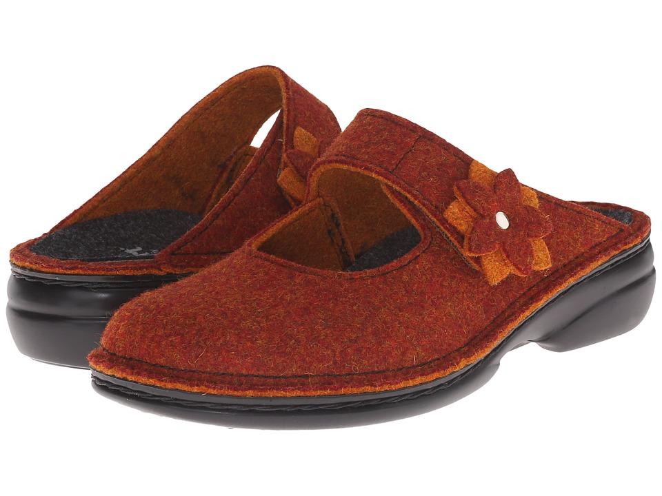 Finn Comfort - Arlberg (Rost DoubleFilz) Women's Clog Shoes