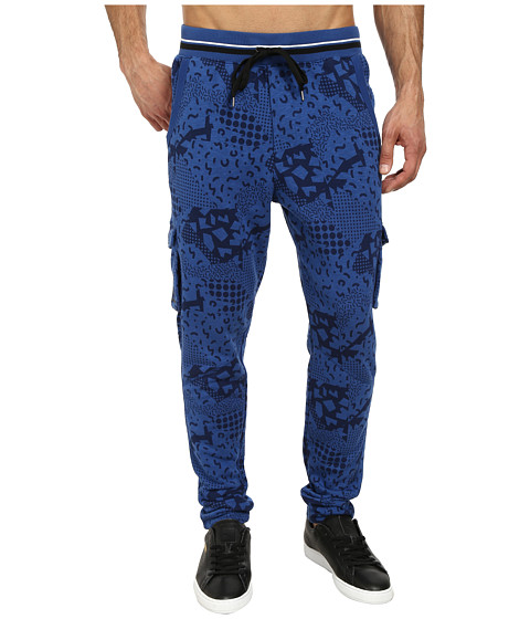 PUMA - MMQ Cargo Pants (Limoges Blue Heather) Men's Casual Pants