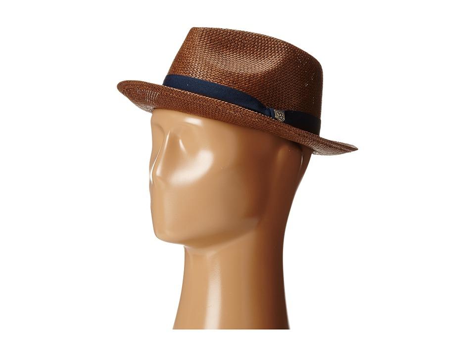 Brixton - Baxter (Brown/Navy) Traditional Hats