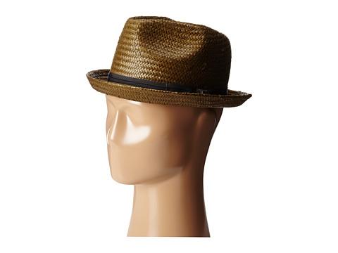 Brixton - Castor Fedora (Sepia) Traditional Hats