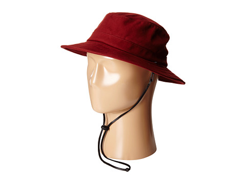 Brixton - Tracker Bucket Hat (Burgundy) Bucket Caps