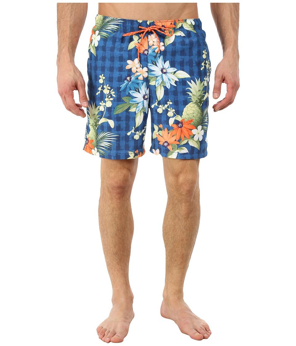 Tommy Bahama - Naples Poipu Pineapple (Navy) Men's Swimwear