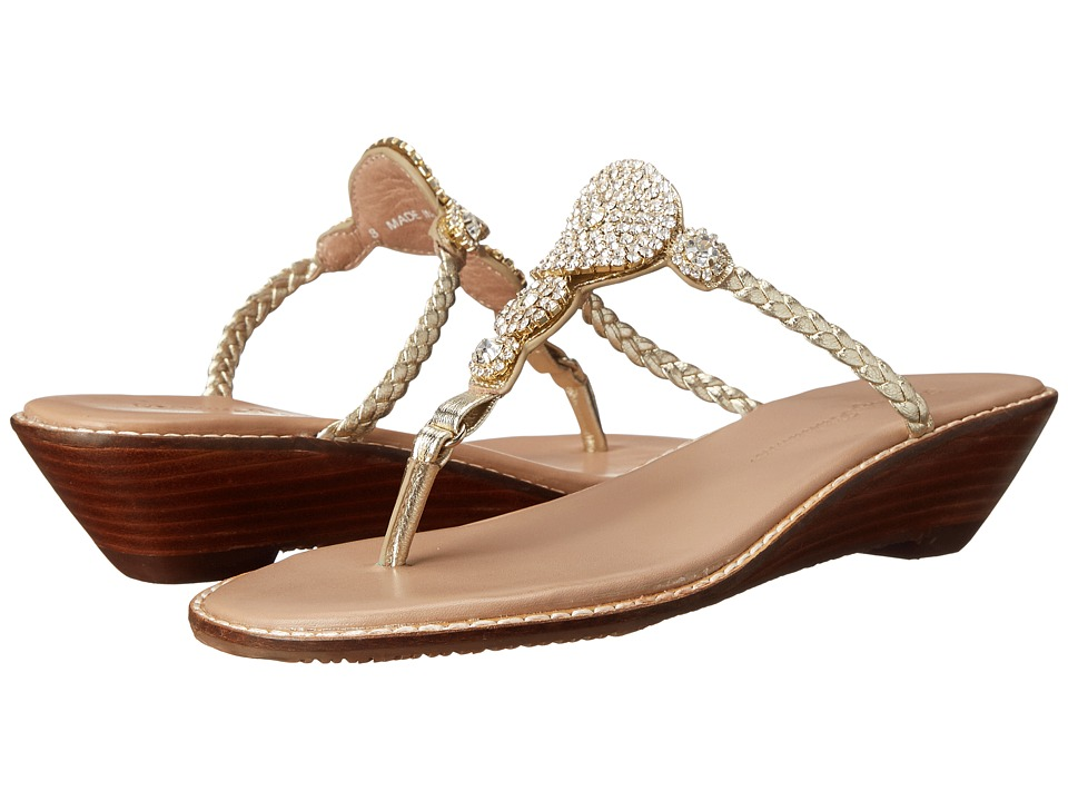 Tommy Bahama Yerba Wedge (Light Gold) Women