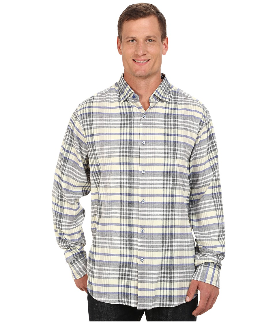 Tommy Bahama Big & Tall - Big Tall Heather Harbor (Deep Sterling) Men's Clothing