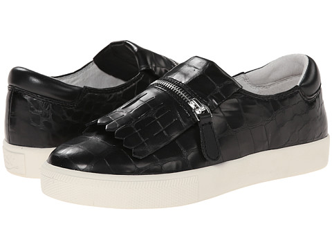 ASH - Instant (Black/Black Gloss Croco/Nappa) Women's Slip on Shoes