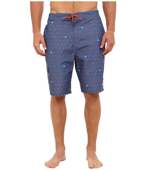 Tommy Bahama Big & Tall - Big Tall Hampton Lotsa Lobsta (Navy) Men's Swimwear