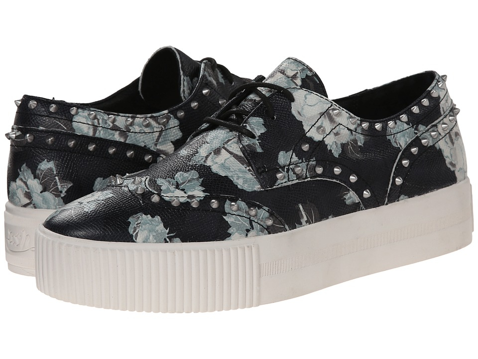 ASH - Krush (Black Alpina Flower) Women's Lace up casual Shoes
