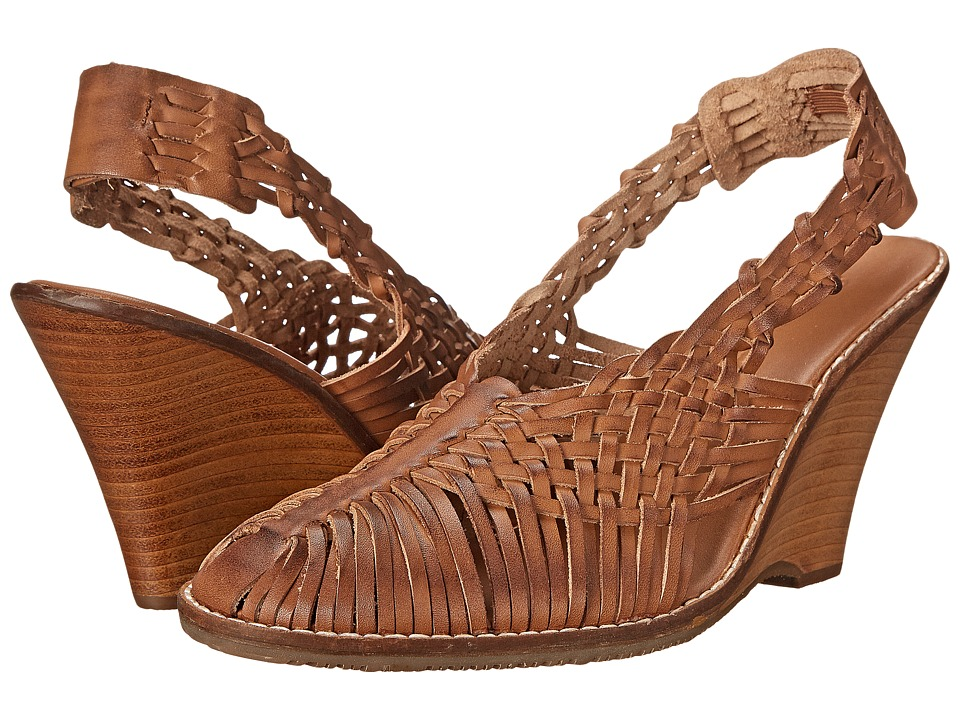 Tommy Bahama - Priscilah Wedge (Whiskey) Women's Wedge Shoes