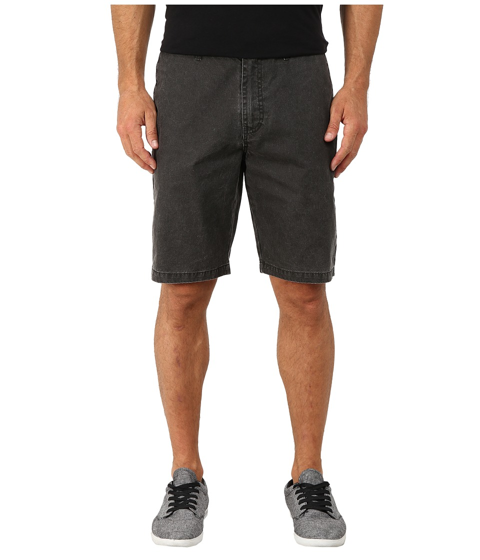 Volcom - Frickin Wash Shorts (Black) Men's Shorts