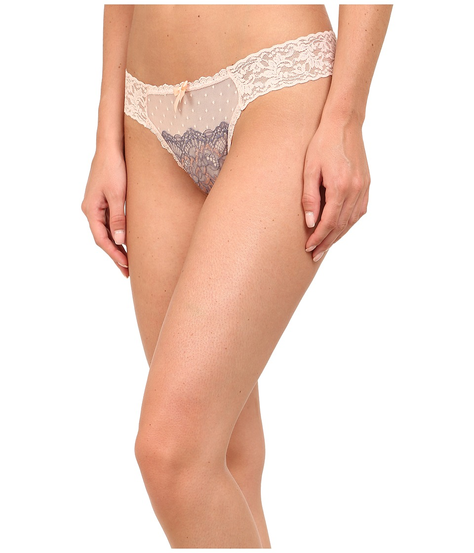 Hanky Panky - Emma Diamond Thong (Peachy Pink) Women