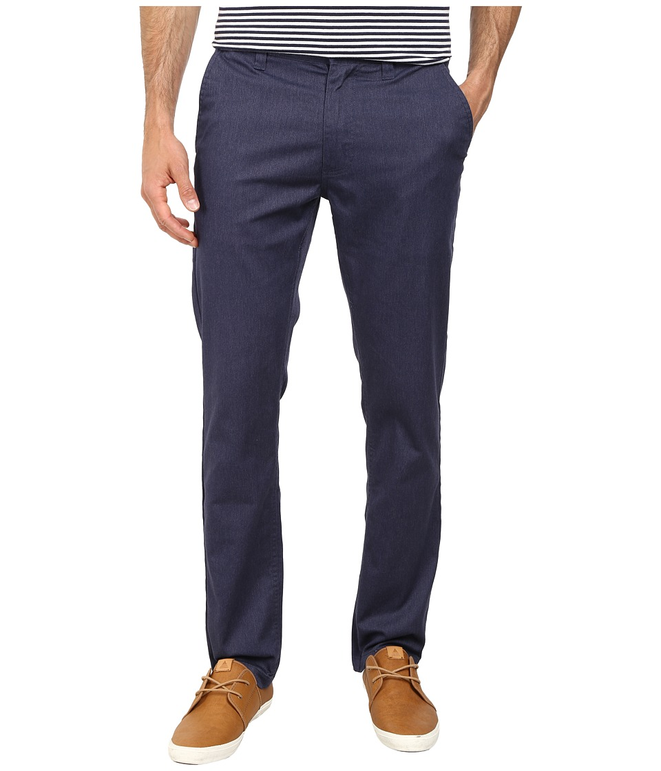 Brixton - Grain Chino Pants (Washed Blue) Men's Casual Pants