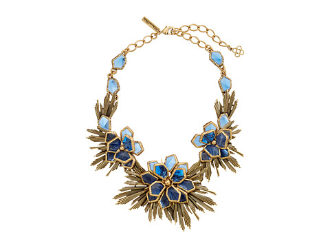 Oscar de la Renta - Wild Flower Necklace (Tanzanite) Necklace