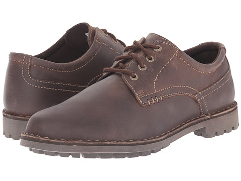 Sebago - Metcalf Plain Toe (Dark Brown) Men's Plain Toe Shoes