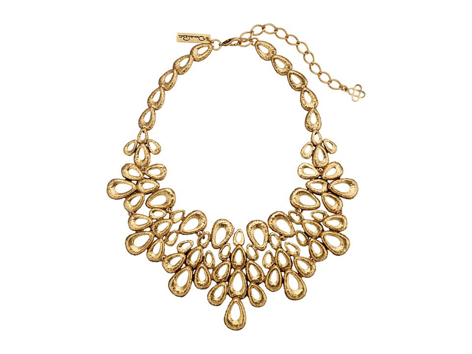 Oscar de la Renta - Teardrop Necklace (Russian Gold) Necklace