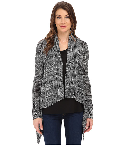 Jack by BB Dakota - Tedra Marled Cardigan Sweater (Black) Women's Sweater