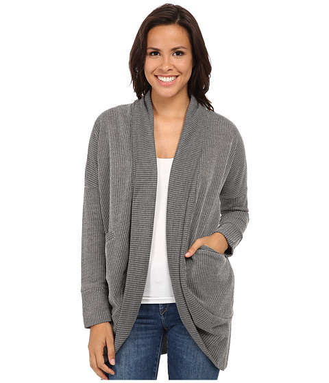 Jack by BB Dakota - Myah Cocoon Cardigan (Charcoal Grey) Women