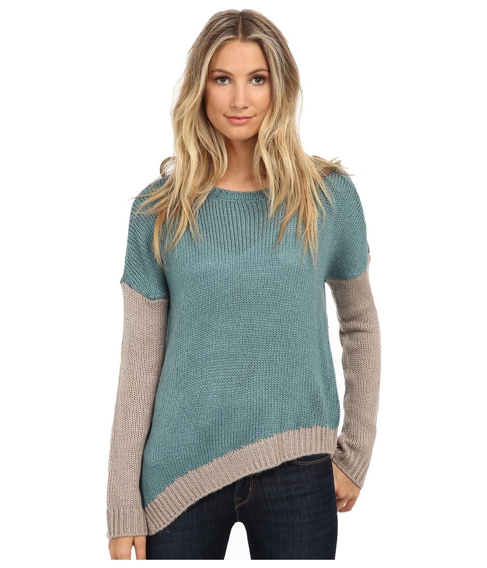 Jack by BB Dakota - Nilo Color Block Sweater (Deep Sea) Women's Sweater