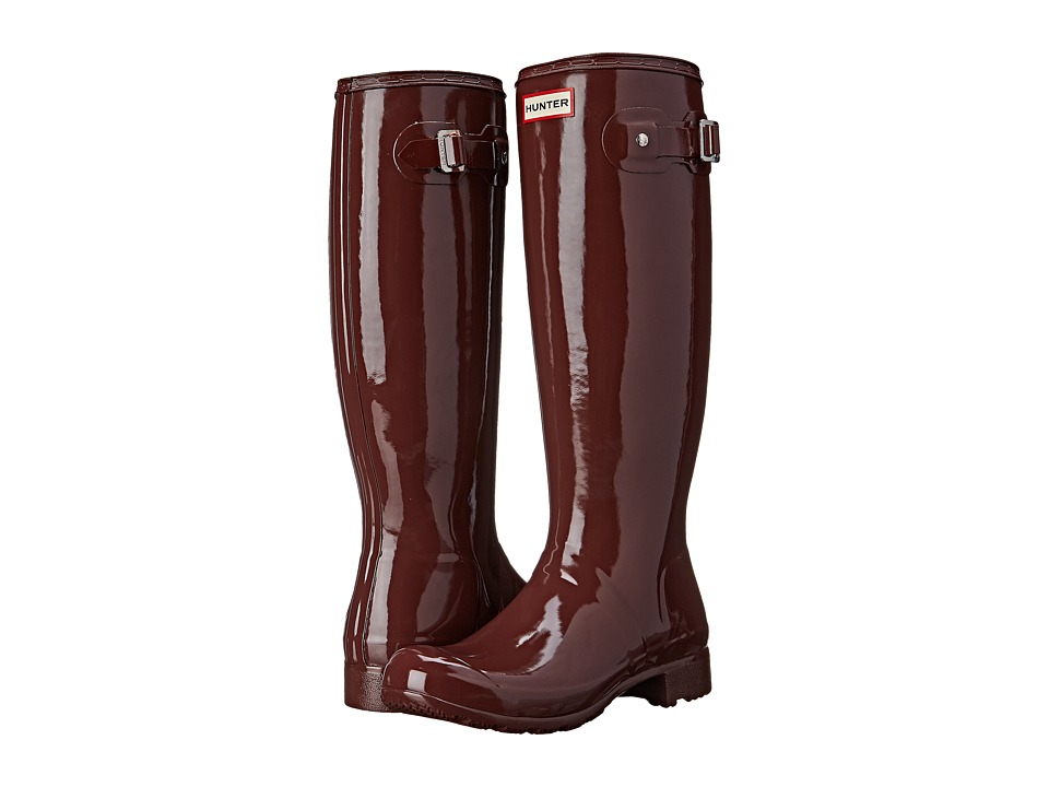 Hunter - Original Tour Gloss (Umber) Women's Rain Boots