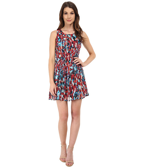 Jack by BB Dakota - Kendrew Dripping Dots Dress (Multi) Women