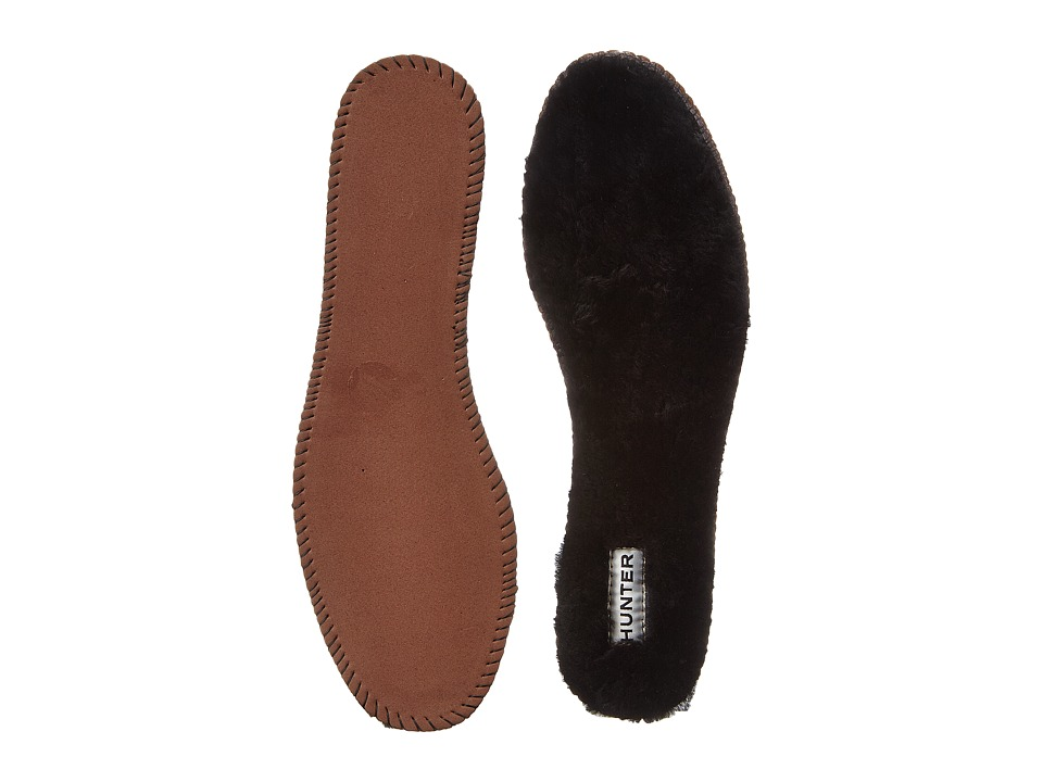 Hunter - Luxury Shearling Insoles (Black) Women's Rain Boots