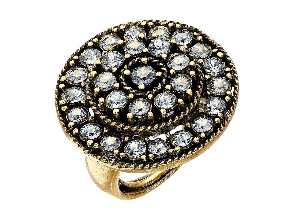 Oscar de la Renta - Disk Ring (Periwinkle) Ring