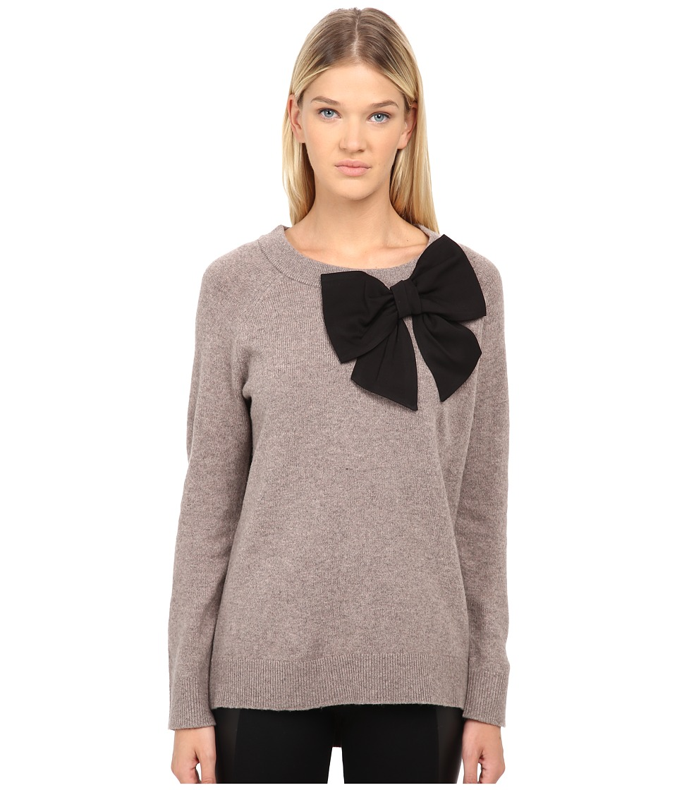 Kate Spade New York - Bow Sweater (Dorm Mouse) Women's Sweater