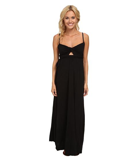 Roxy - Patmos Dream Maxi Dress (True Black) Women's Dress