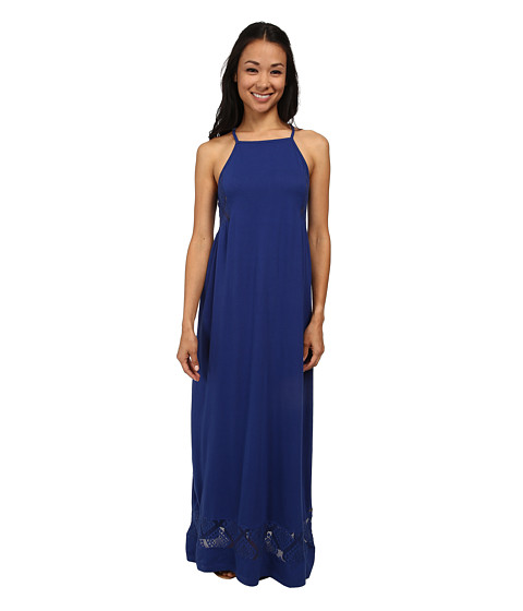 Roxy - West End Maxi Dress (Mazarine Blue) Women