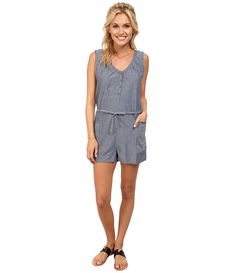 Roxy - Dream Dreaming Romper (Chambray 2) Women's Jumpsuit & Rompers One Piece
