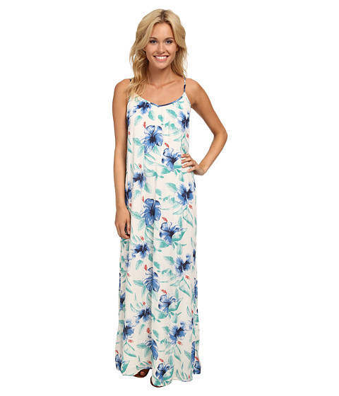Roxy - Lookout Point Maxi Dress (Patriot Blue Java Floral) Women's Dress