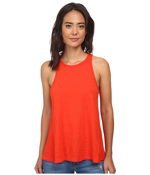 Roxy - Rockaway Tank Top (Fiery Orange) Women's Sleeveless