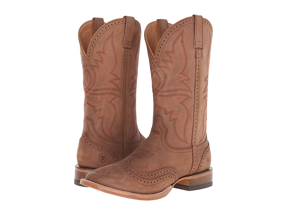 Ariat - Showman (Crazy Tan) Cowboy Boots