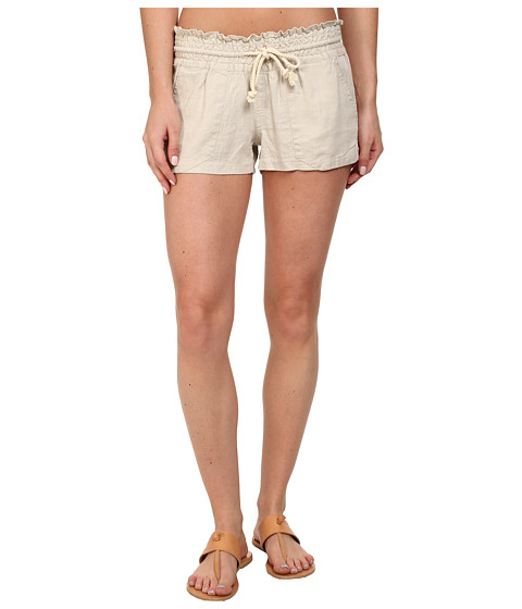 Roxy - Oceanside Short (Stone) Women's Shorts