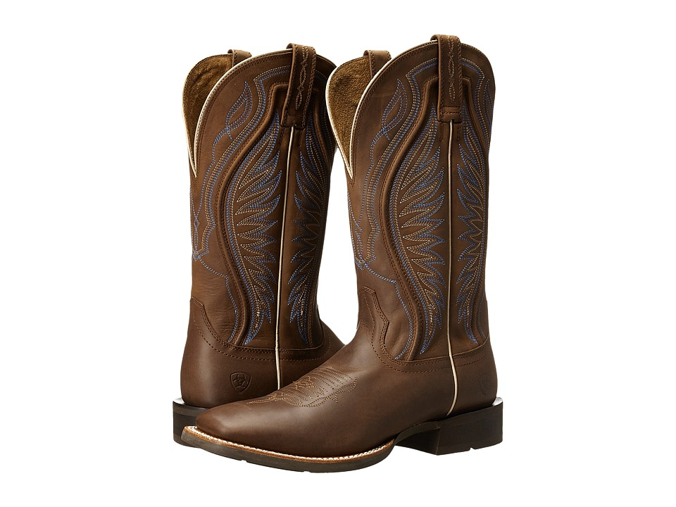 Ariat - Rodeo Warrior (Crazy Tan) Cowboy Boots