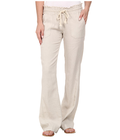 Roxy - Ocean Side Pant (Stone) Women's Casual Pants