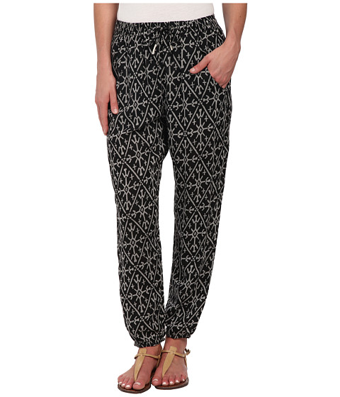 Roxy - Sunday Noon Pant (True Black Mirage Marking) Women's Casual Pants