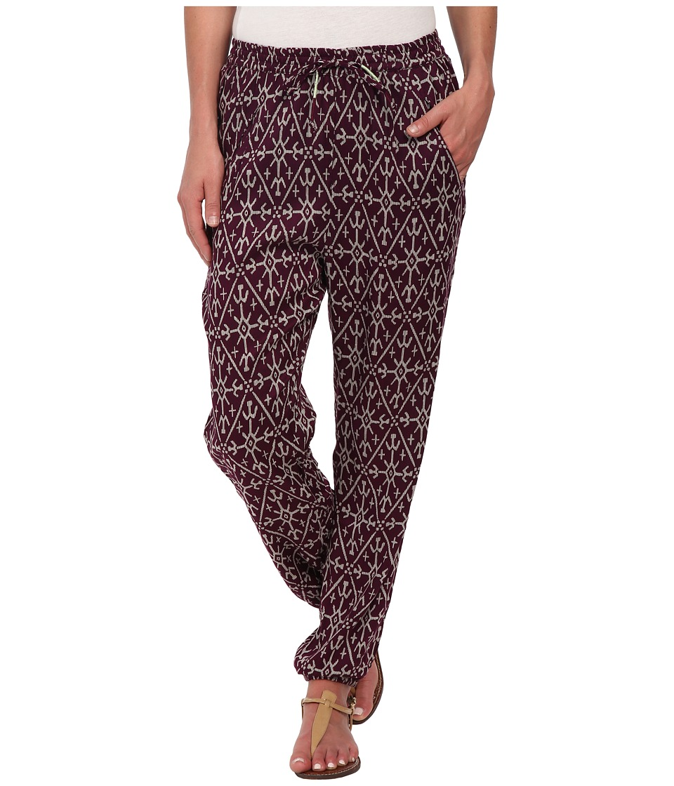 Roxy - Sunday Noon Pant (Grape Juice Mirage Marking) Women