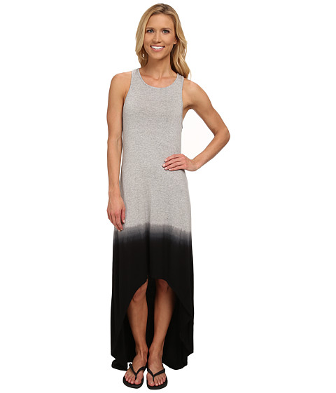 Pink Lotus - Ombre Hi-Lo Dress (Stone) Women's Dress